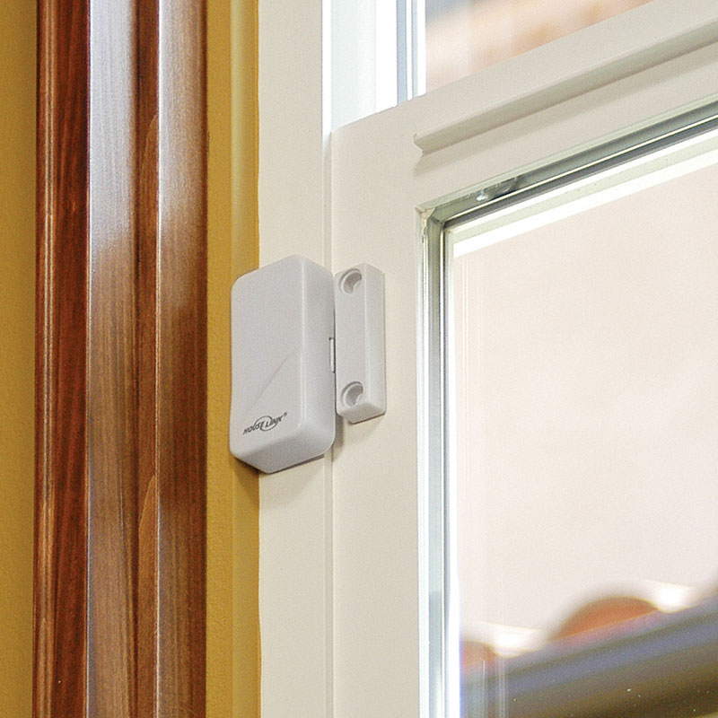 Window sensors for home security