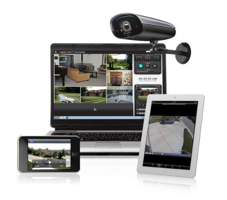 Bilder zu digital home security
